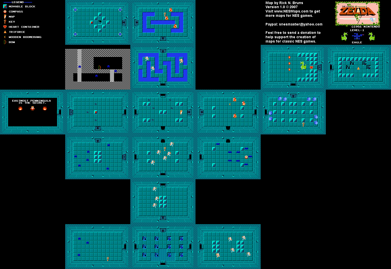 Level 01 (Quest 1) Map (PNG)