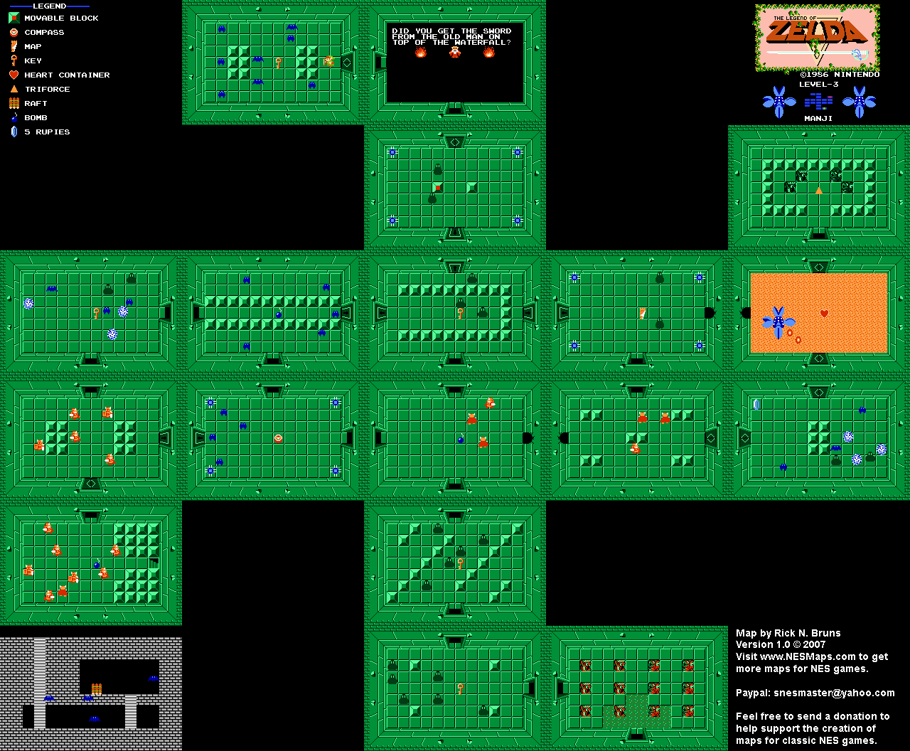 Level 03 (Quest 1) Map (PNG)