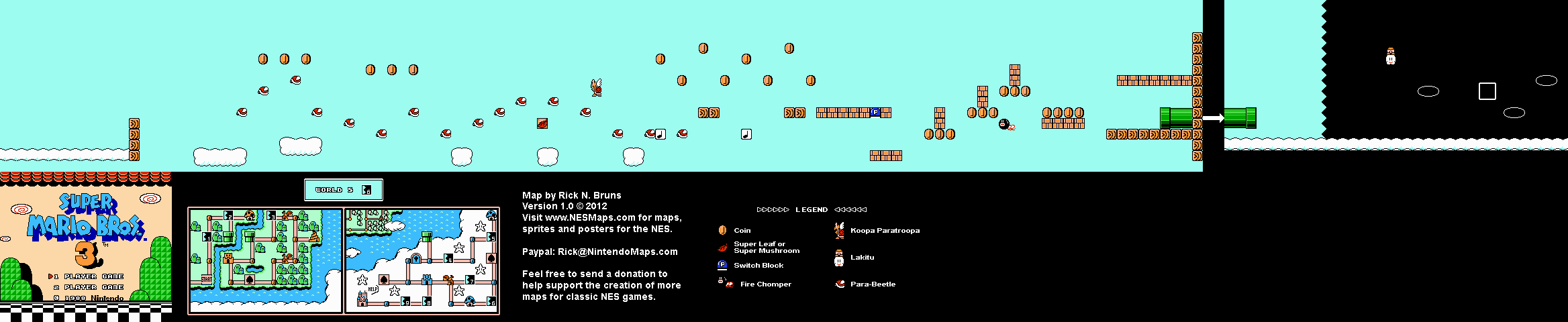 World 5-6 Map (PNG)