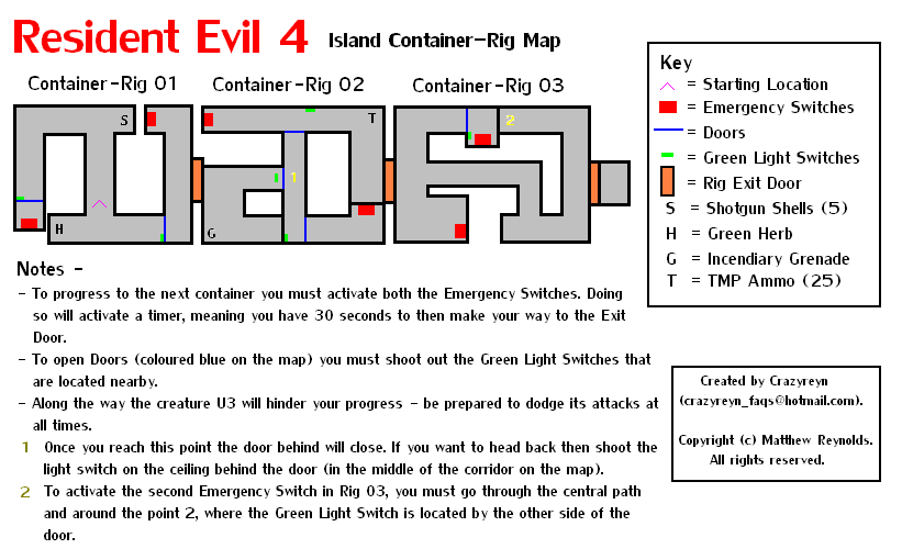 <b>Resident Evil 4</b> Island Container-Rig Map (PNG) - Neoseeker ...