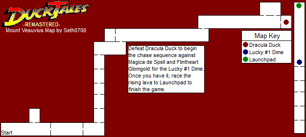 DuckTales Remastered Mount Vesuvius Map PNG Seth - Mt vesuvius map