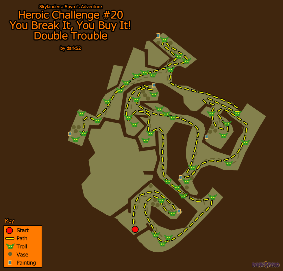 Heroic Challenge #20 Map (PNG)