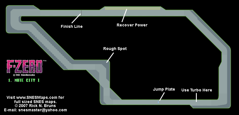 1. Mute City I (Knight League) Map (PNG)