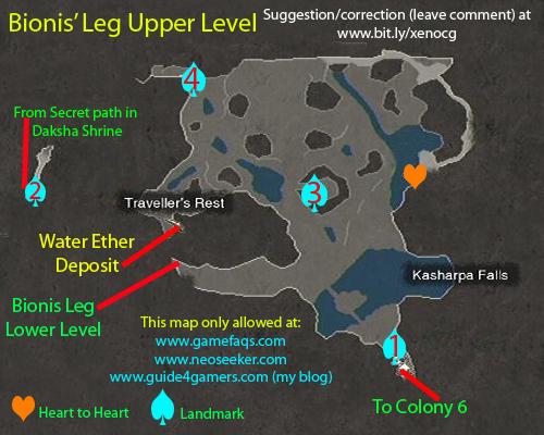 Bionis Leg Upper Level Map (JPEG)